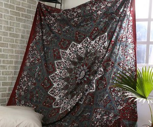 hippie tapestry, mandala tapestry, and bohemian tapestry image