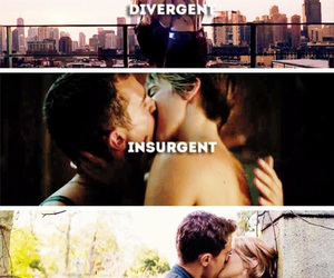 couple, movie, and insurgent image