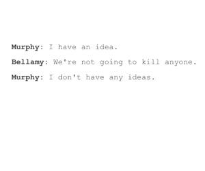john, murphy, and the 100 image