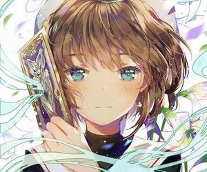 anime, anime girl, and sakura image