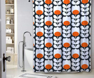 bathroom, new, and shower curtains image