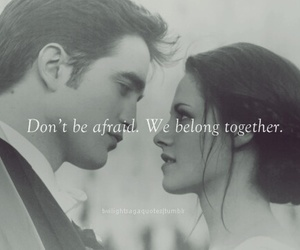 twilight, edward, and quote image