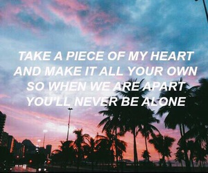 never be alone, shawn mendes, and Lyrics image
