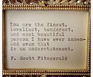 quote, f. scott fitzgerald, and fitzgerald image