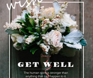 get well, get well soon card, and get well cards image