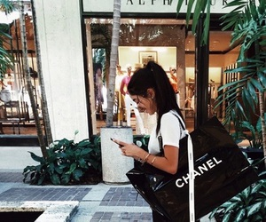 girl, chanel, and shopping image