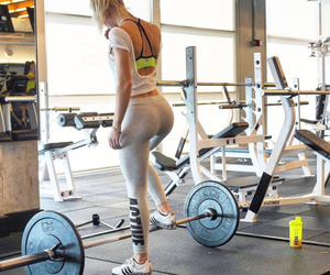 booty, gym, and healthy image