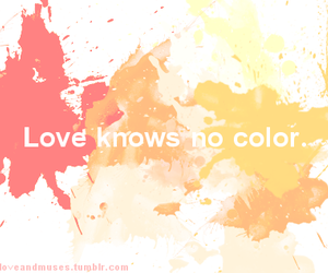 color, couple, and interracial image