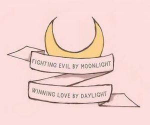 pink, quotes, and sailor moon image