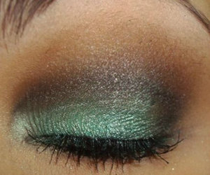 eyes, makeup, and pretty image