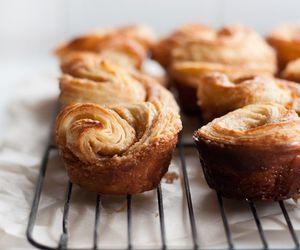 bun, Cinnamon, and delicious image