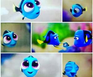dory, disney, and fish image