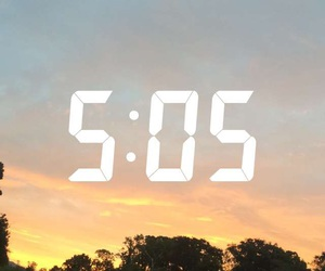 5, am, and clouds image