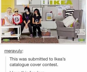 cosplay, homestuck, and ikea image