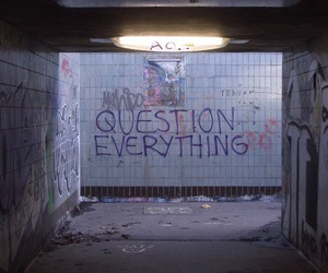 question everything image