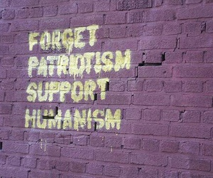 quotes, wall, and humanism image