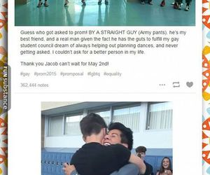 date, Prom, and funny tumblr post image