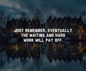 hard work and waiting image