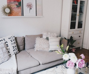decoration, flowers, and minimalistic image