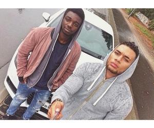 black, boys, and car image