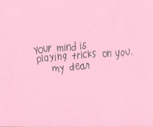 quotes, mind, and pink image