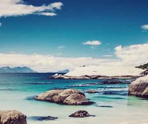 sea, wallpaper, and beach image