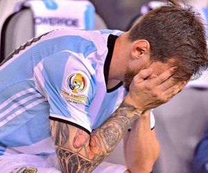 blue and messi image