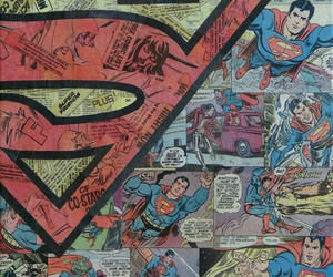 superman, wallpaper, and comic image
