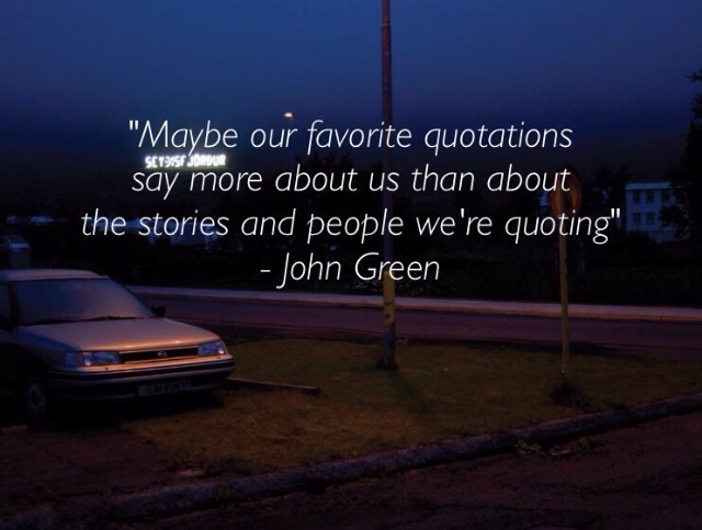 quotes, john green, and stories image