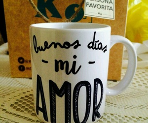 in the name of love, mug, and love image