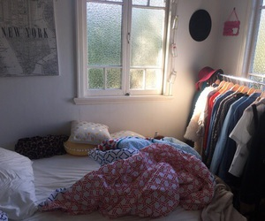 room, tumblr, and bed image