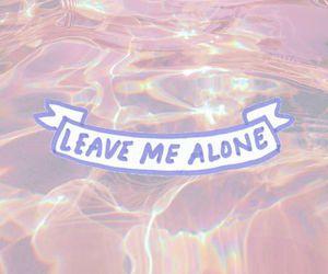 alone, pink, and grunge image