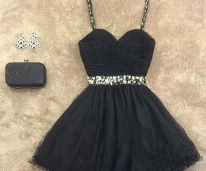 dress, black, and look image
