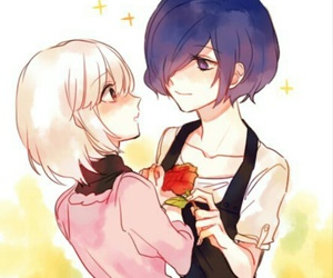 couple, fanart, and Otaku image