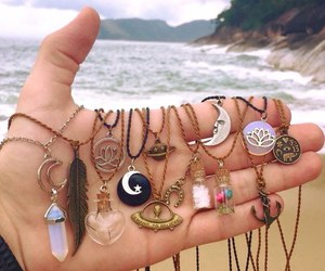 awesome, necklace, and paradise image