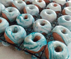 dessert, donuts, and doughnuts image