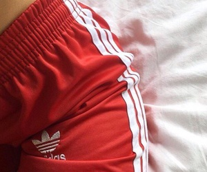 adidas and red image