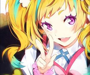 anime, kiznaiver, and anime girl image