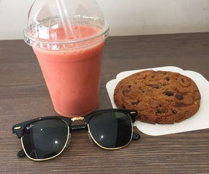 cookie, summer, and smoothie image