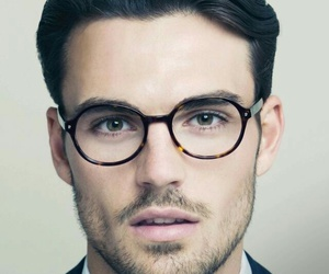 glasses, Hot, and boy image