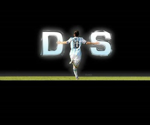 argentina, messi, and dios image