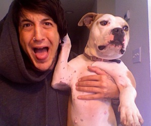 austin carlile, dog, and of mice and men image