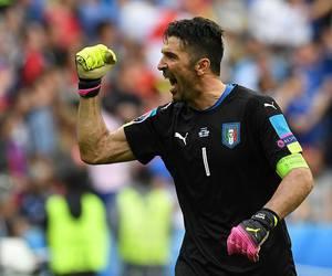 football, italia, and gigi buffon image