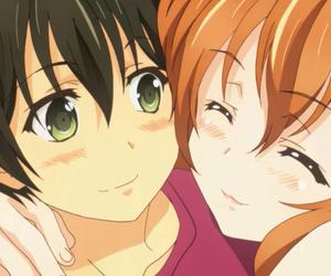 golden time, anime, and love image