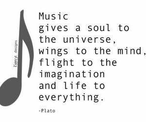 music, imagination, and life image
