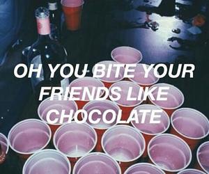 grunge, chocolate, and dark image