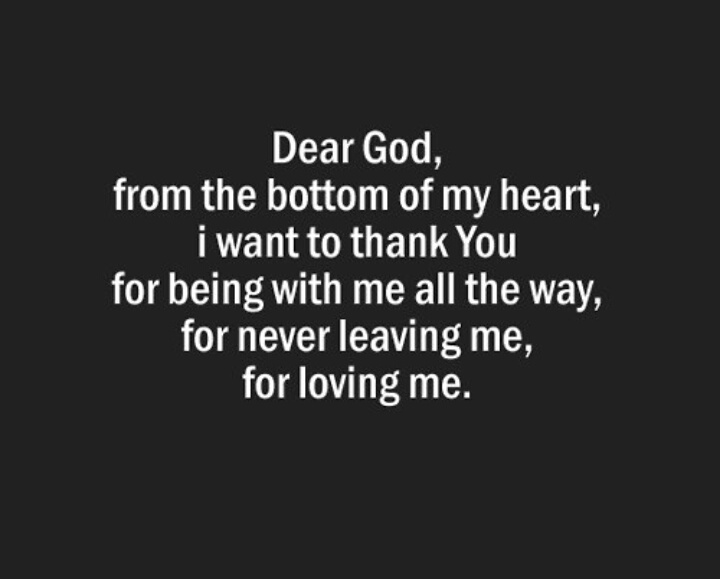 Dear God, thank You for everything! ❤ on We Heart It