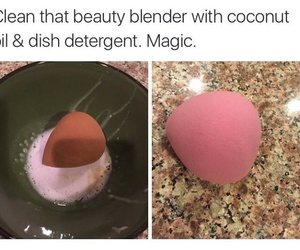 makeup, true, and life hacks image