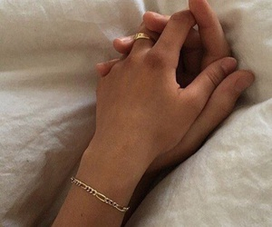 bracelet, couple, and together image