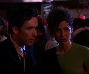 john cusack, minnie driver, and grosse pointe blank image